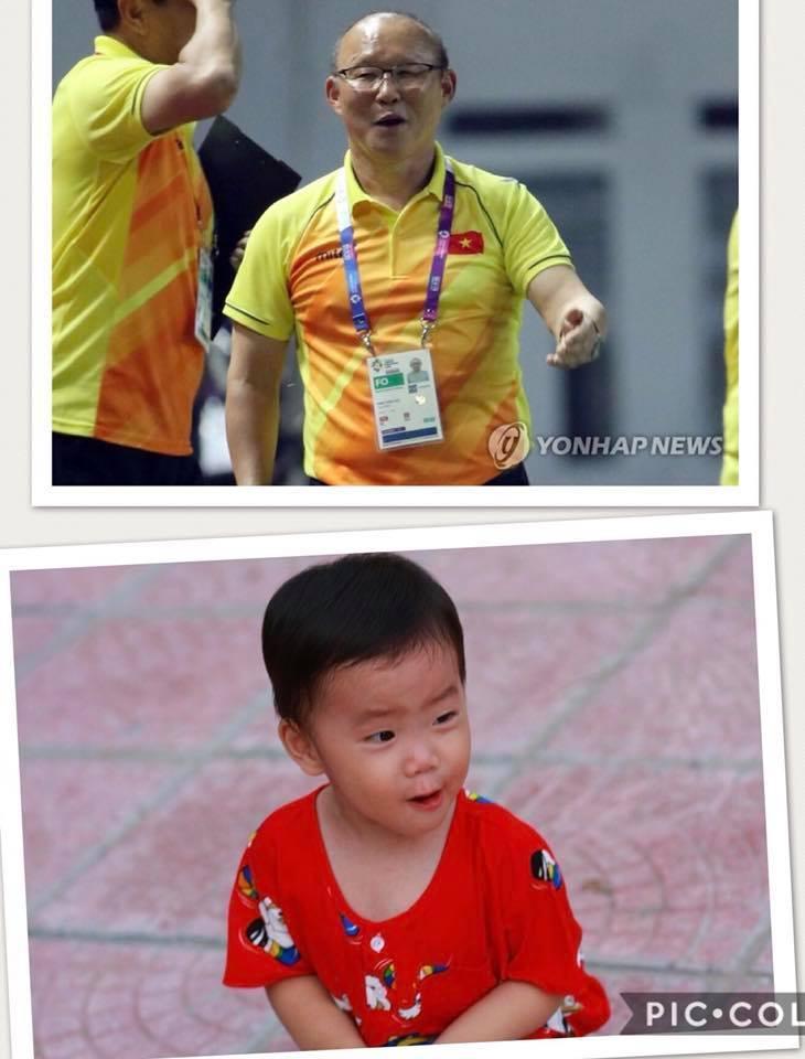 Cậu bé hot nhất mạng xã hội Việt hôm qua khi sở hữu loạt biểu cảm cực giống huấn luyện viên Park Hang Seo-4