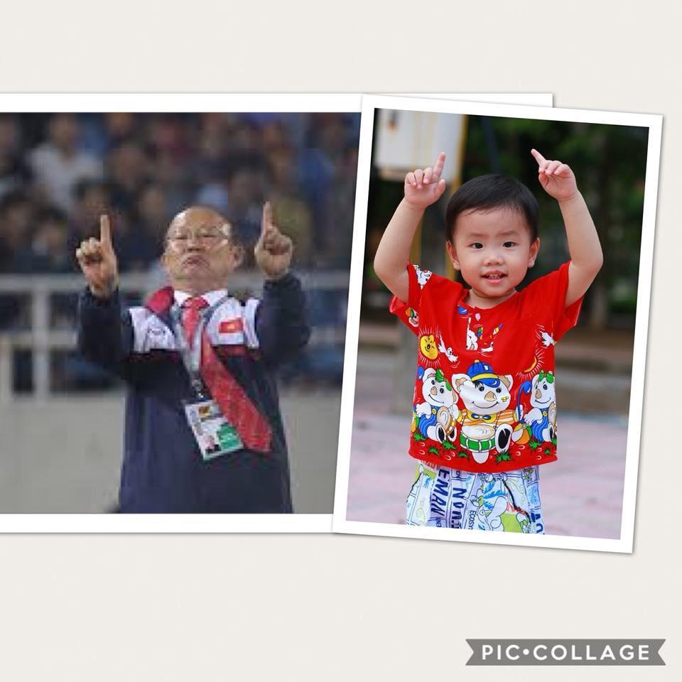 Cậu bé hot nhất mạng xã hội Việt hôm qua khi sở hữu loạt biểu cảm cực giống huấn luyện viên Park Hang Seo-12