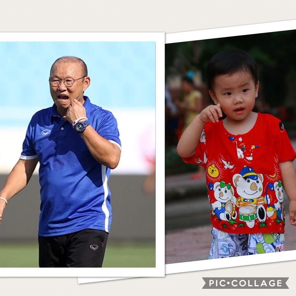 Cậu bé hot nhất mạng xã hội Việt hôm qua khi sở hữu loạt biểu cảm cực giống huấn luyện viên Park Hang Seo-6