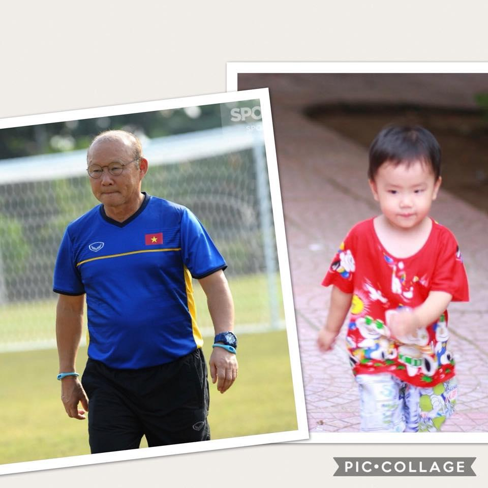 Cậu bé hot nhất mạng xã hội Việt hôm qua khi sở hữu loạt biểu cảm cực giống huấn luyện viên Park Hang Seo-7