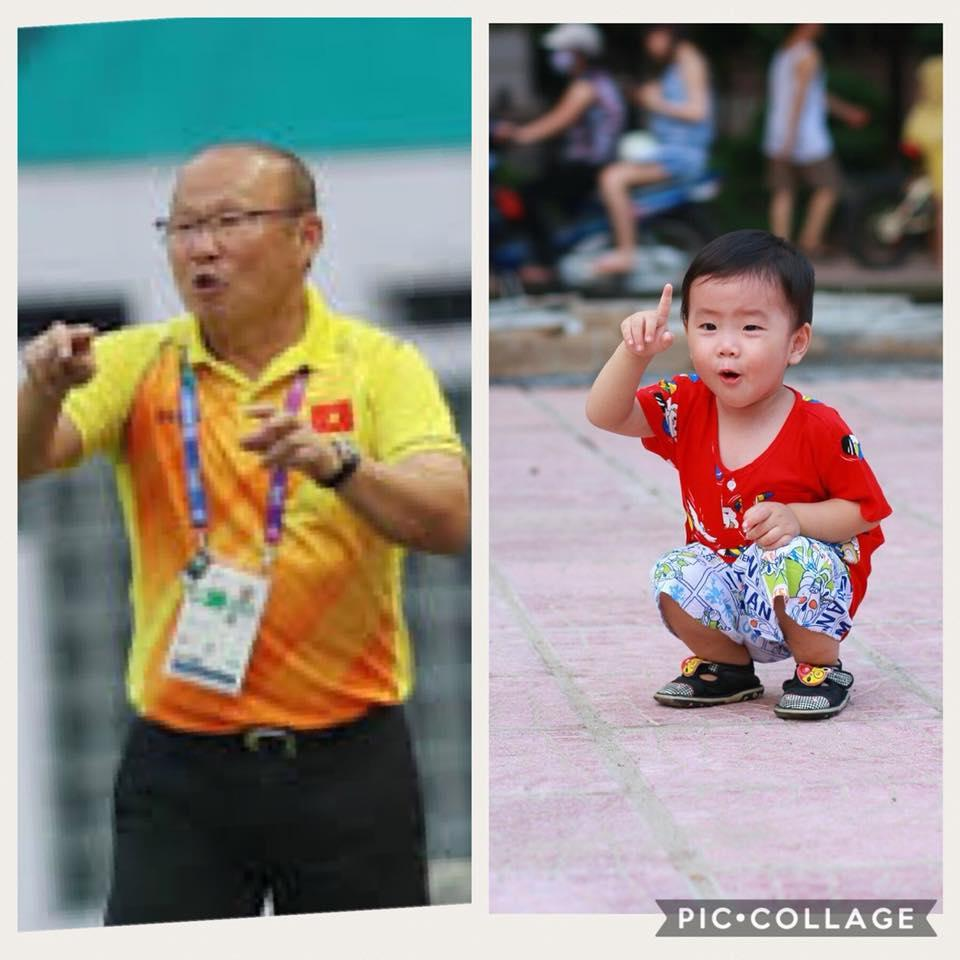 Cậu bé hot nhất mạng xã hội Việt hôm qua khi sở hữu loạt biểu cảm cực giống huấn luyện viên Park Hang Seo-9