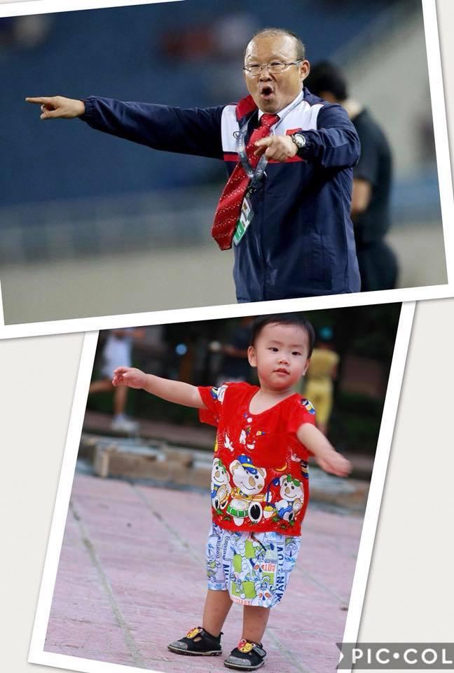 Cậu bé hot nhất mạng xã hội Việt hôm qua khi sở hữu loạt biểu cảm cực giống huấn luyện viên Park Hang Seo-10