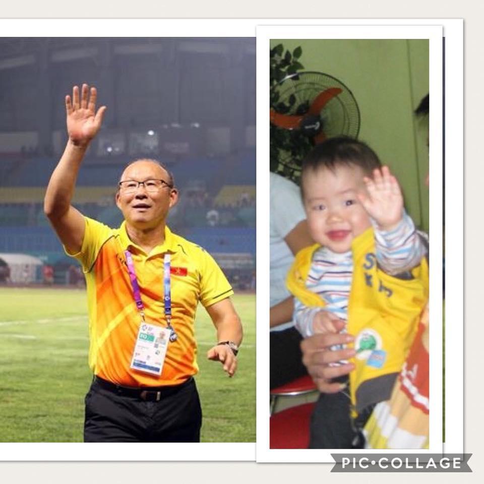 Cậu bé hot nhất mạng xã hội Việt hôm qua khi sở hữu loạt biểu cảm cực giống huấn luyện viên Park Hang Seo-2