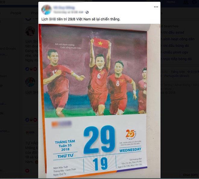 Thực hư lịch tiên tri dự báo lịch sử sẽ lại gọi tên U23 Việt Nam-2