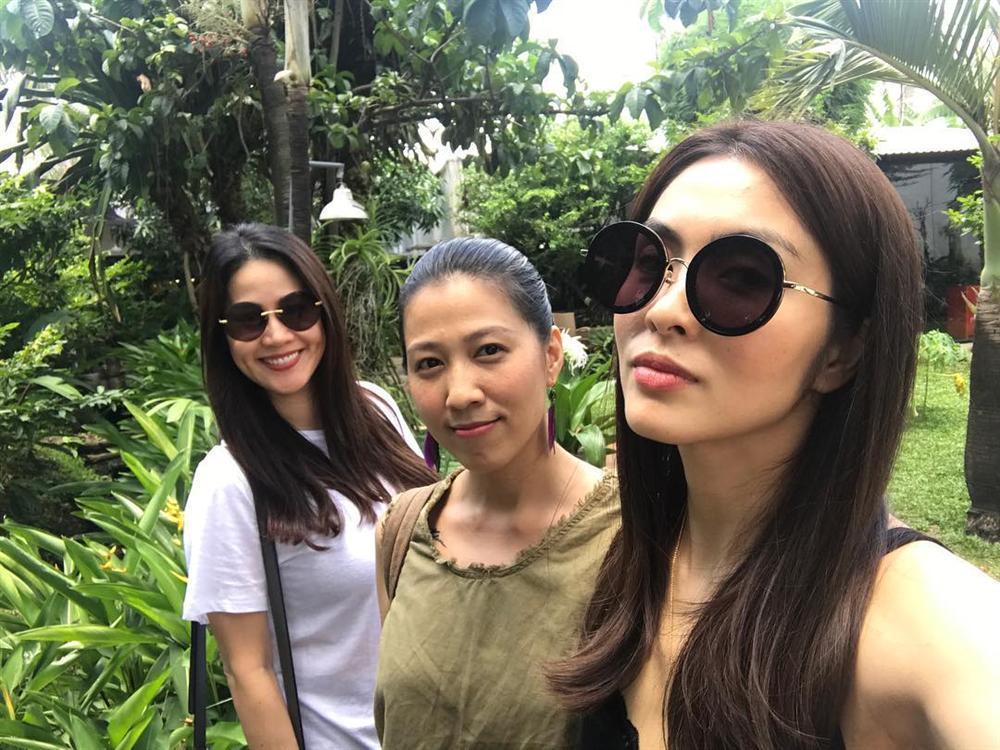Tăng Thanh Hà tung tăng thăm thú vườn tược cùng hội bạn thân-2