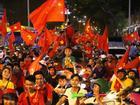 Thua Hàn Quốc, CĐV Việt Nam vẫn 'đi bão'