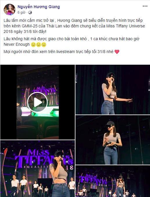 Lỡ tay share 47 giây Never Enough, Hương Giang bị fan nằng nặc đòi bản full vì… hát quá ngọt-1