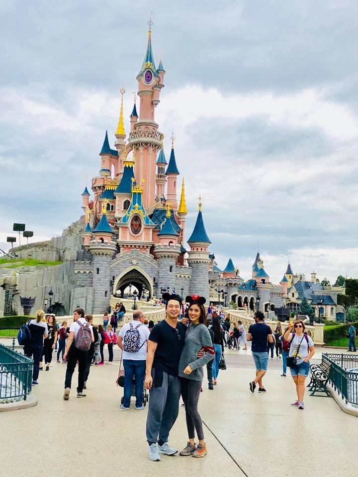 1 tháng nữa mới làm đám cưới, Lan Khuê và chồng đại gia đi Pháp tận hưởng honeymoon sang chảnh-1