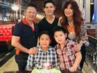 Bằng Kiều 'tái hợp' với vợ cũ mừng sinh nhật con trai