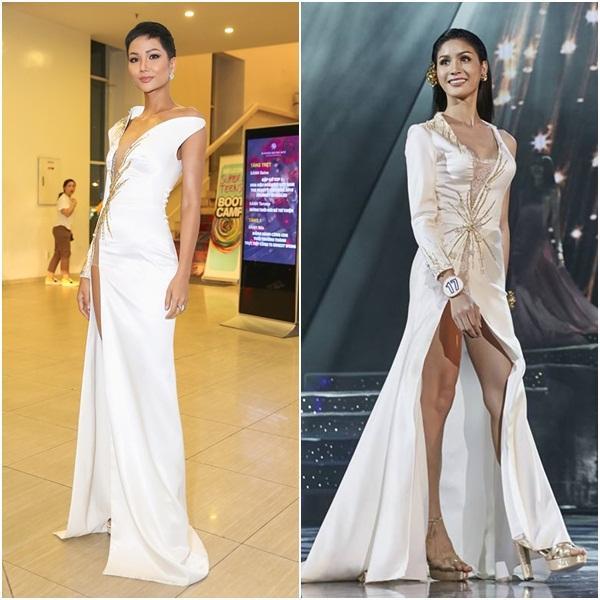 Mặc váy nhái HHen Niê, thí sinh Hoa hậu Chuyển giới Thái Lan 2018 gánh cái kết thảm hại-5
