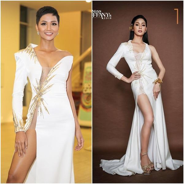 Mặc váy nhái HHen Niê, thí sinh Hoa hậu Chuyển giới Thái Lan 2018 gánh cái kết thảm hại-6