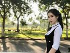 Gặp lại nữ sinh lai Việt - Trung bất ngờ nổi tiếng khi đi cổ vũ U23 Việt Nam