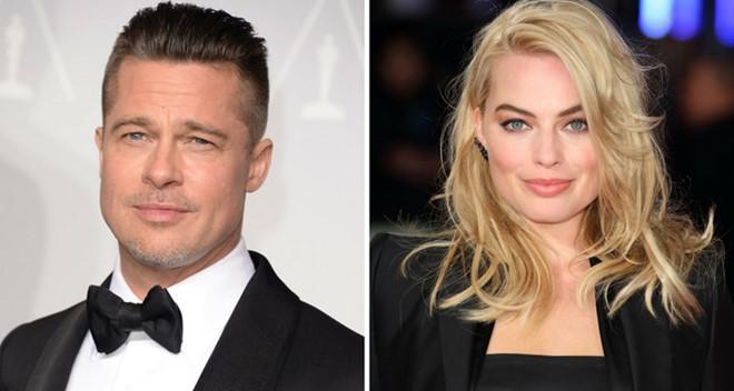 Brad Pitt bị chồng quả bom sex Margot Robbie dằn mặt-1