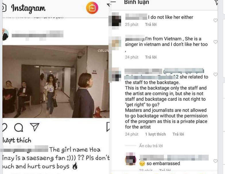 Hòa Minzy mạo danh nhân viên lao vào hậu trường chụp ảnh BTS khiến fan toàn thế giới bùng cơn phẫn nộ-3