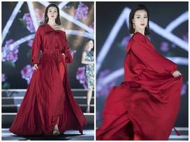 Đỗ Mỹ Linh thừa sức lấn sân sang nghiệp người mẫu với màn catwalk 'đỉnh của đỉnh'