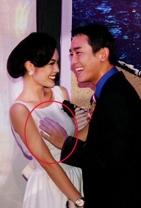 Trước khi có bức ảnh Quang Vinh chụp cạnh bộ phận sinh dục, nhiều sao Việt cũng khốn đốn vì tạo dáng thị phi-13