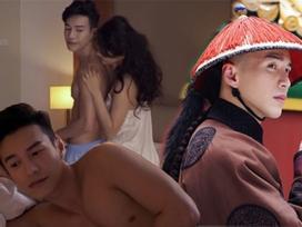 Mỹ nam 'Diên Hi Công Lược' lộ ảnh giường chiếu nóng bỏng với sao phim 18+