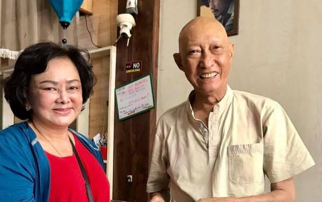 Nghệ sĩ Lê Bình được về nhà, sắp phải hóa trị thêm-2
