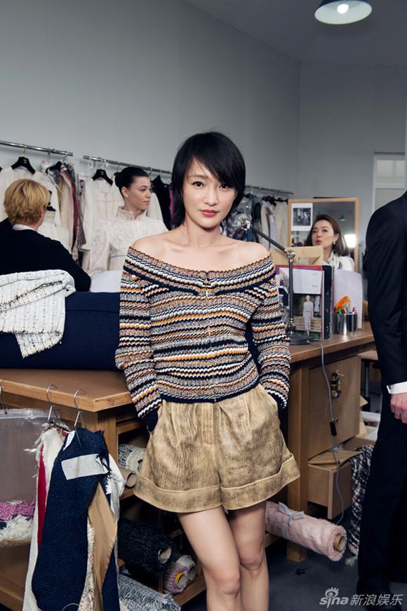 Châu Tấn - nàng thơ của giới thời trang quốc tế-5