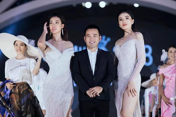 Lần đầu tiên, hoa hậu Kỳ Duyên nắm tay Đỗ Mỹ Linh công phá sàn catwalk-6