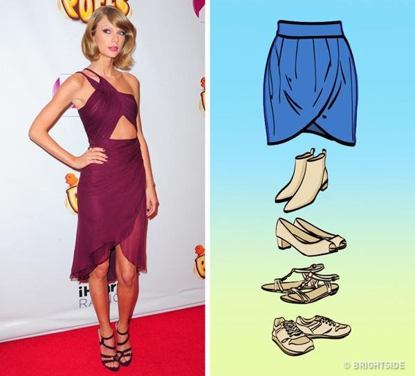 Cách kết hợp giày với 7 loại chân váy cơ bản-2