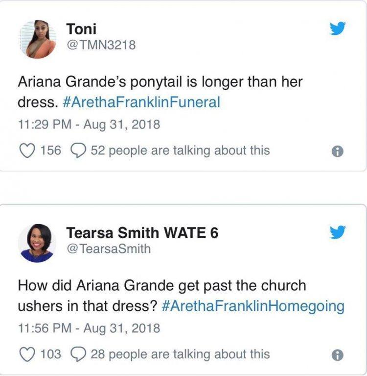 Ariana Grande, câu chuyện bị quấy rối và góc nhìn khác từ cư dân mạng: Cô ta mặc đồ quá phản cảm!-4