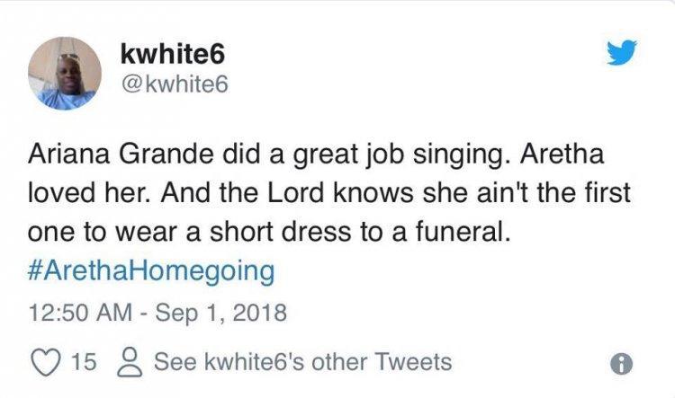 Ariana Grande, câu chuyện bị quấy rối và góc nhìn khác từ cư dân mạng: Cô ta mặc đồ quá phản cảm!-5
