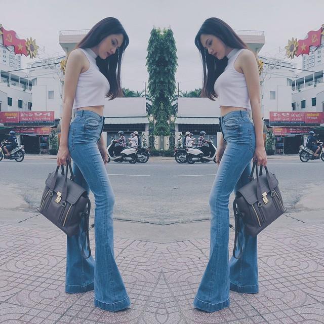 Học lỏm ngay bí kíp tạo dáng của hoa hậu Hương Giang để có được những bức ảnh ngàn like-13