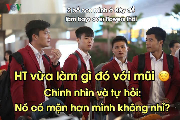 Loạt ảnh chế lầy lội chào đón Olympic Việt Nam về nước-3