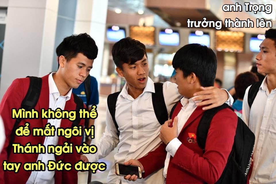Loạt ảnh chế lầy lội chào đón Olympic Việt Nam về nước-4