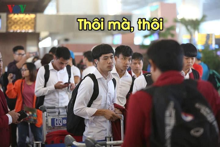 Loạt ảnh chế lầy lội chào đón Olympic Việt Nam về nước-5