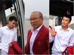 Nghẹn lòng khoảnh khắc U23 Việt Nam hát Như có Bác Hồ trong ngày vui đại thắng trên máy bay-1