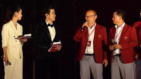Huấn luyện viên Park nghẹn ngào chia sẻ về giải đấu của các học trò tại Asiad 2018-1