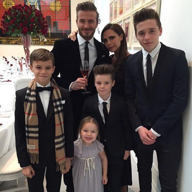 Vợ chồng David Beckham giải thích cho các con về tin đồn ly hôn-1