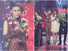 Chuyện hy hữu Chung kết 'The Voice': Cúp quán quân bị gãy ngay sau khi trao cho học trò Noo Phước Thịnh