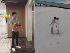 Sau tin đồn chụp ảnh cưới, Cường Đô La sánh đôi bên bạn gái