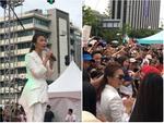 Fan cuồng đòi 'chụp tan nát Mỹ Tâm' trong show diễn tại Hàn Quốc
