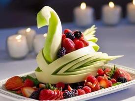 Chuẩn bị đĩa hoa quả đẹp mắt để cùng quây quần trong ngày Tết độc lập