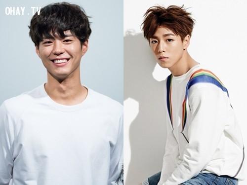 Những cặp đôi nhìn tựa như nhau của showbiz Hàn