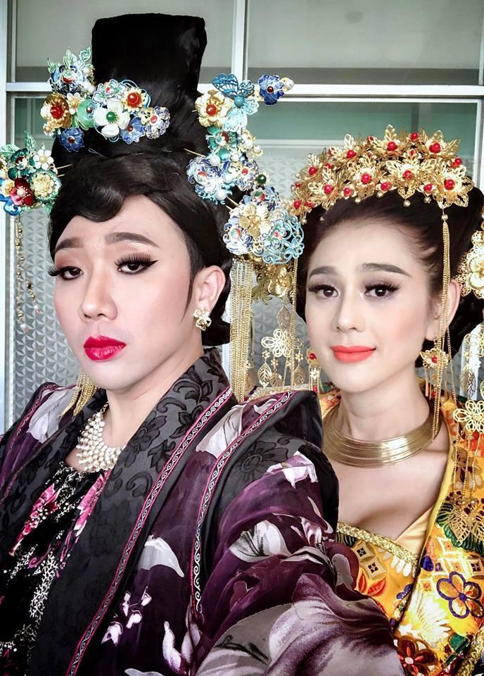 Trấn Thành đọ sắc bên người đẹp chuyển giới Lâm Khánh Chi-1