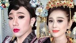 Trấn Thành 'đọ sắc' bên người đẹp chuyển giới Lâm Khánh Chi