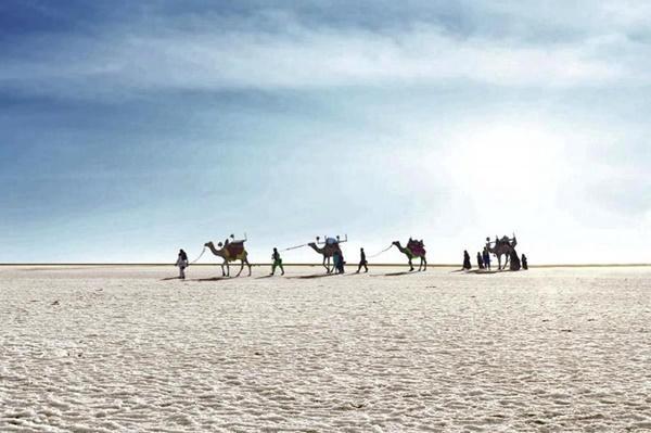 Sa mạc muối khổng lồ của Ấn Độ hút khách nhờ vẻ siêu thực-1