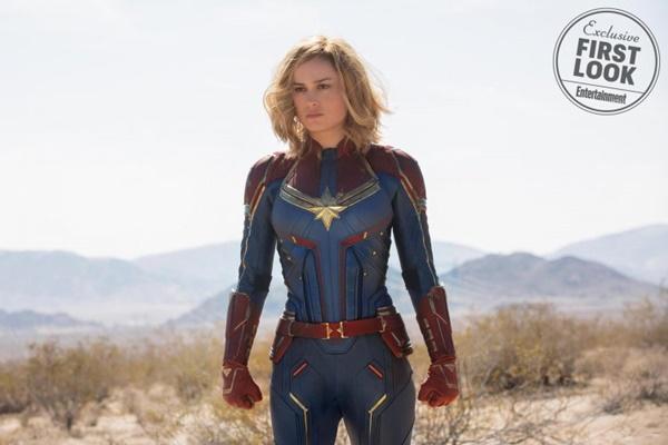 Cực hot: Marvel tung ảnh bìa của Captain Marvel - Nữ siêu anh hùng mạnh nhất từ trước tới nay-1