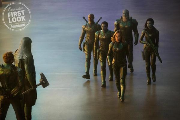 Cực hot: Marvel tung ảnh bìa của Captain Marvel - Nữ siêu anh hùng mạnh nhất từ trước tới nay-5