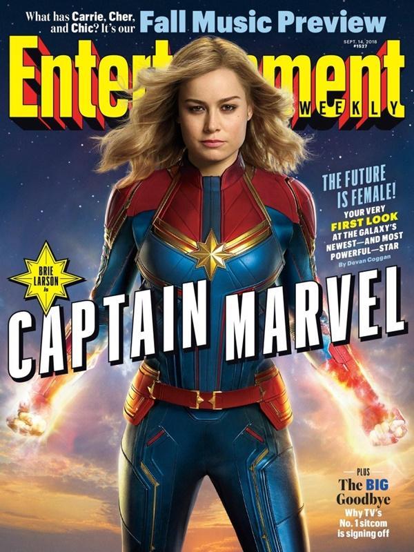 Cực hot: Marvel tung ảnh bìa của Captain Marvel - Nữ siêu anh hùng mạnh nhất từ trước tới nay-9