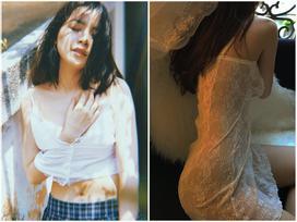 Chi Pu thả rông quằn quại trong đầm ren mỏng xuyên thấu, bắt chước 'gái hư Lolita' khiến fan choáng váng