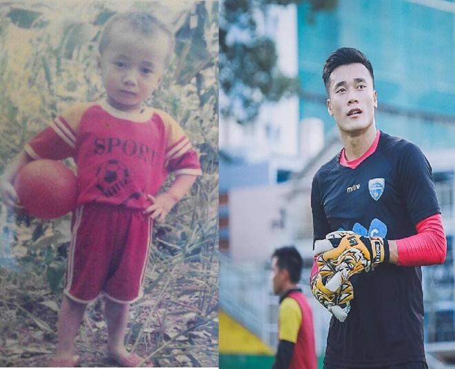 Chẳng kém vựa muối Đức Chinh, thủ môn Bùi Tiến Dũng tung ảnh thẻ cực phẩm khiến fans xốn xang-2