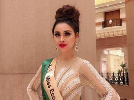 Sau khi mất danh hiệu Á quân Người mẫu, Thư Dung tiếp tục bị phế ngôi Á hậu Du lịch Sinh thái Quốc tế