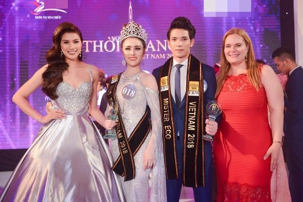 Sau khi mất danh hiệu Á quân Người mẫu, Thư Dung tiếp tục bị phế ngôi Á hậu Du lịch Sinh thái Quốc tế-5