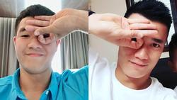 Không chỉ Xuân Trường, loạt cầu thủ U23 Việt Nam cũng bị trào lưu Dele Challenge làm cho 'xoắn não'